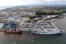 Le terminal à conteneurs d'Owendo, au Gabon, où s'étaient opposés Arise et Bolloré, en 2017, avant de trouver un accord.