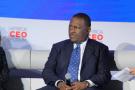 .Abdul Samad Rabiu, PDG, BUA Group, à l'Africa CEO Forum 2019 à Kigali.