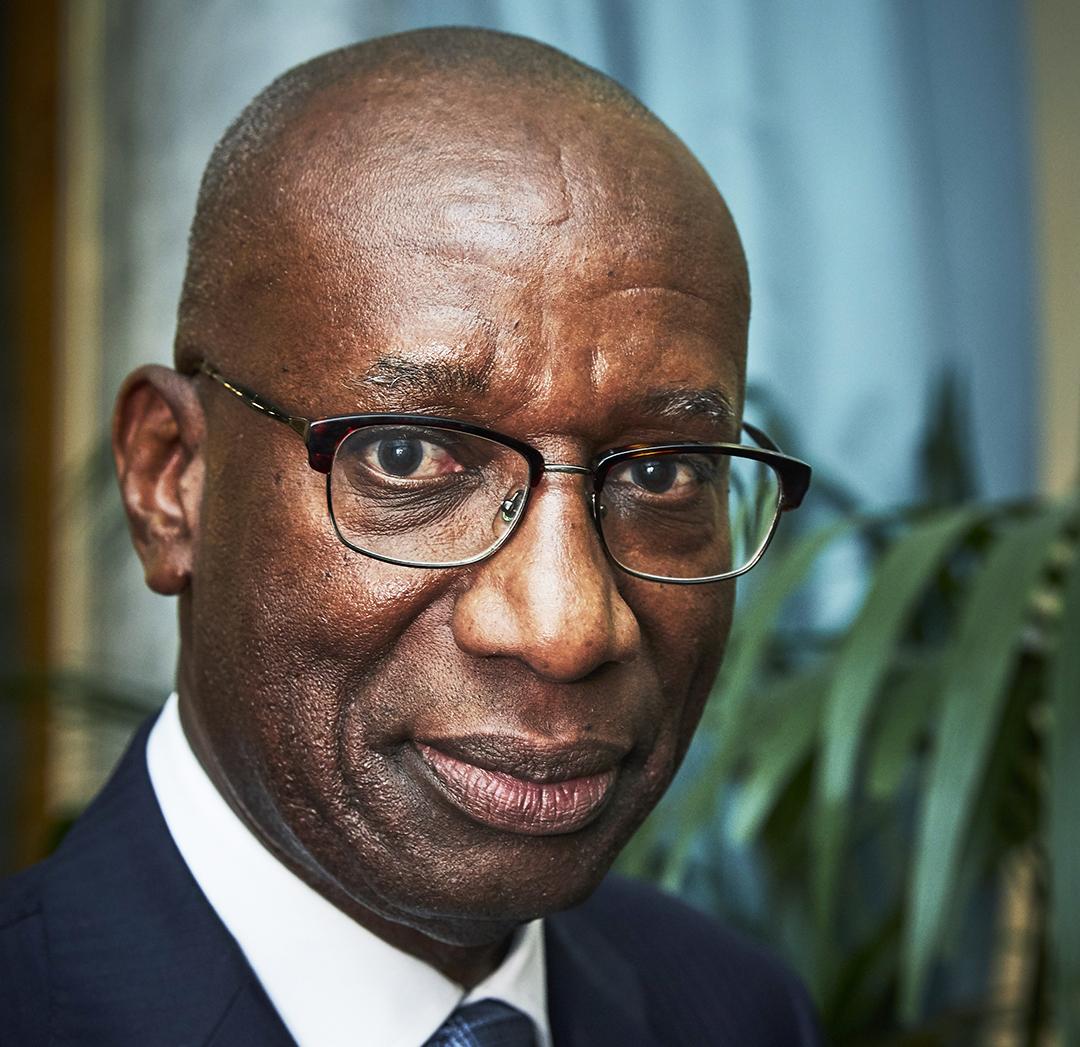 Momar Nguer, président du Comité Afrique de Medef International, le 27 janvier 2020.