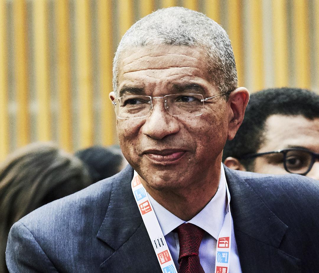 Lionel Zinsou, le 30 octobre 2019 à Paris.