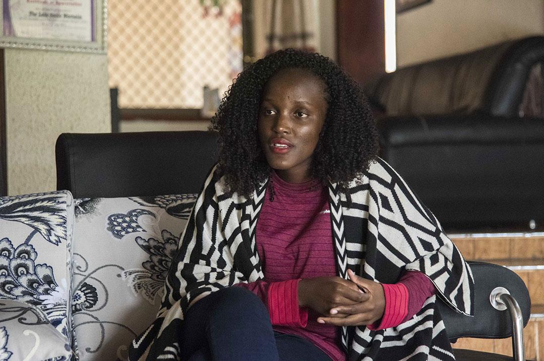 L'activiste ougandaise Vanessa Nakate, à Kampala le 28 janvier 2020.
