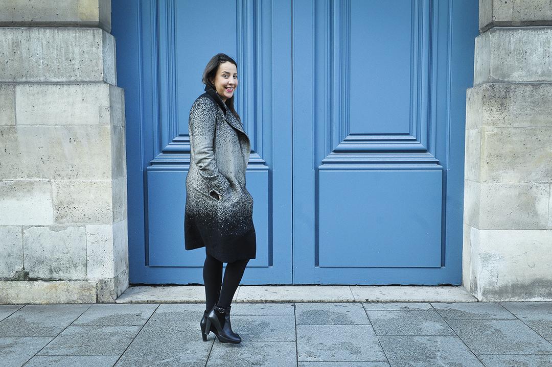 La Marocaine Touria El Glaoui, fondatrice et directrice de 1:54, foire internationale d'art africain contemporain, à Paris en 2015.
