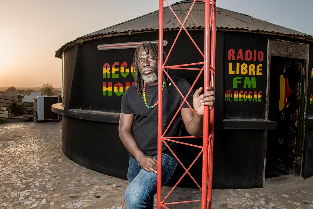 Tiken jah Fakoly, le 13 janvier 2013 à Bamako.
