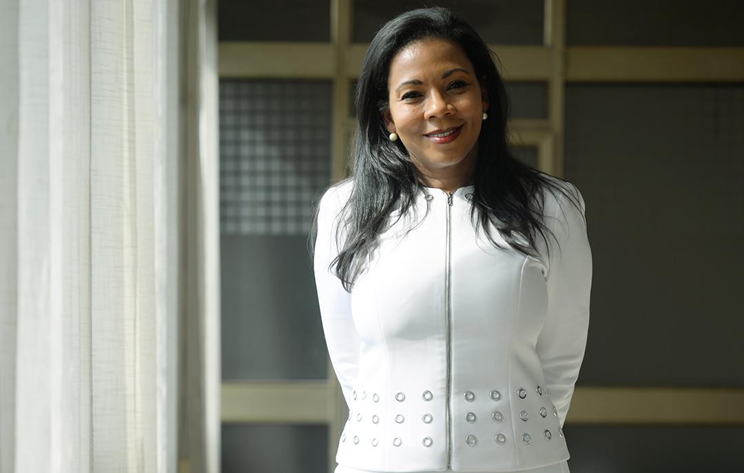 La Camerounaise Rebecca Enonchong.