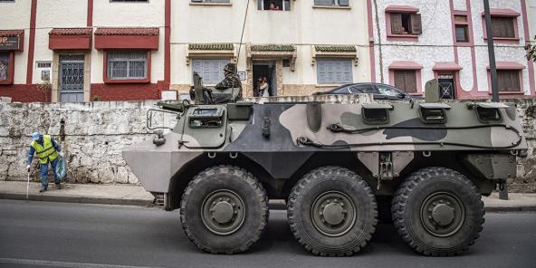 Au Maroc, l'État souhaite développer localement une industrie militaire.
