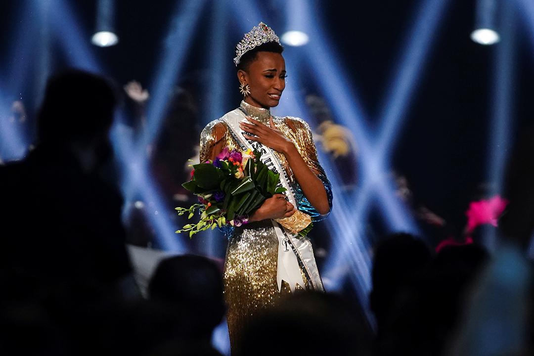 La Sud-Africaine Zozibini Tunzi, élue Miss Univers en décembre 2019 à Atlanta, aux États-Unis