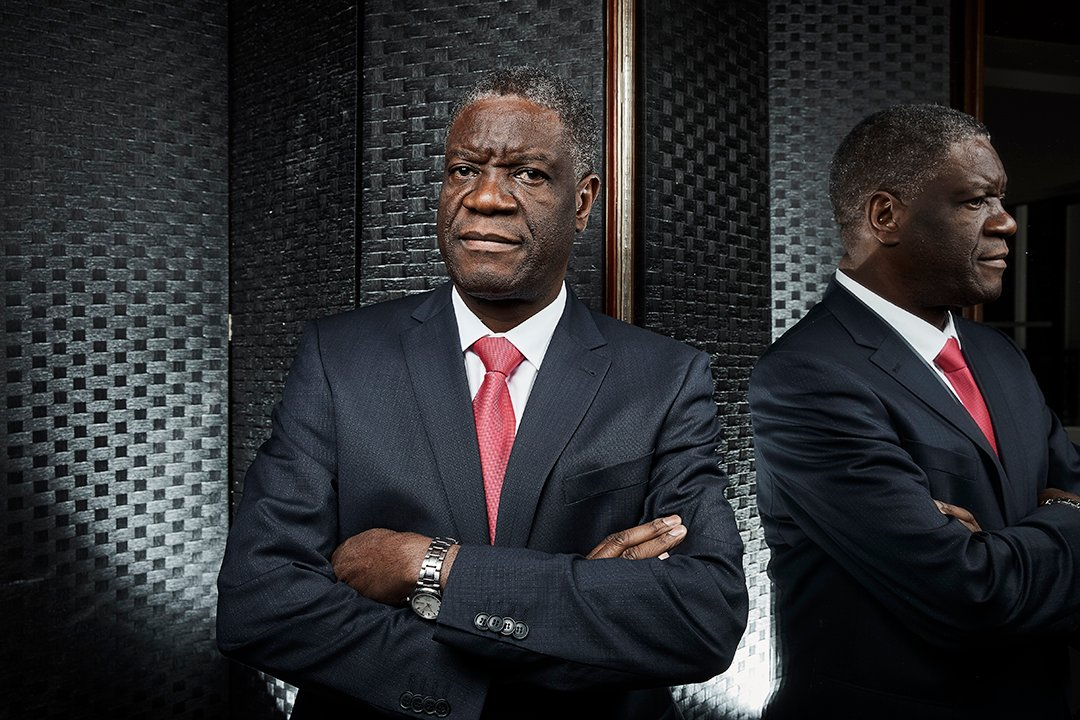 Le docteur Denis Mukwege à Paris, en 2016