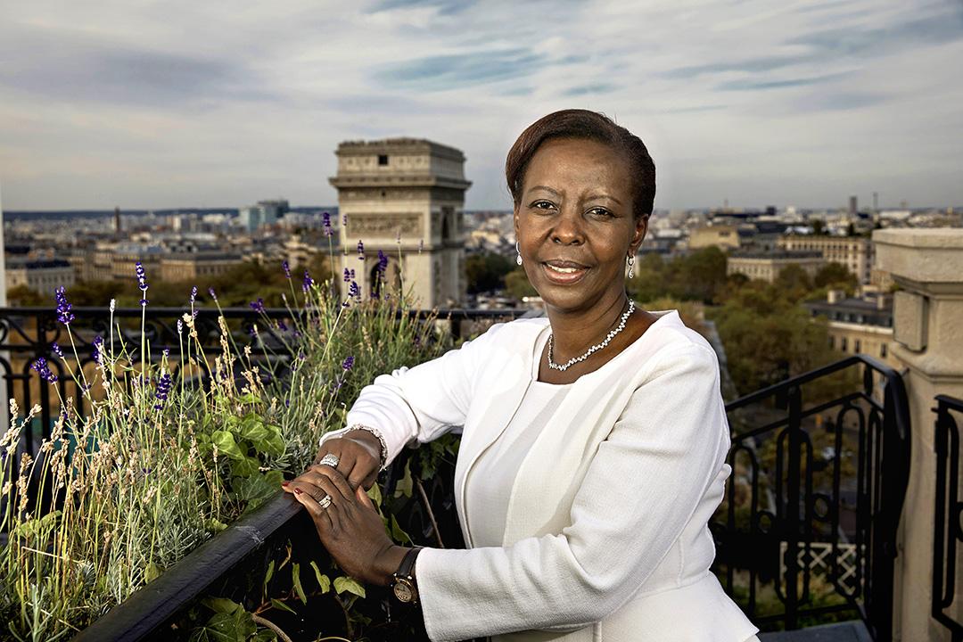 Louise Mushikiwabo, en septembre 2018 à Paris.