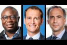 De g. à d., Pascal Agboyibor, Pierre Bernheim et Rémy Fekete.