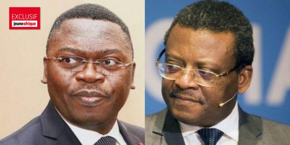 Ferdinand Ngoh Ngoh et Joseph Dion Ngute.