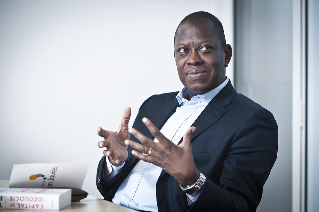 L'économiste togolais Kako Nubukpo à Paris, en novembre 2019.