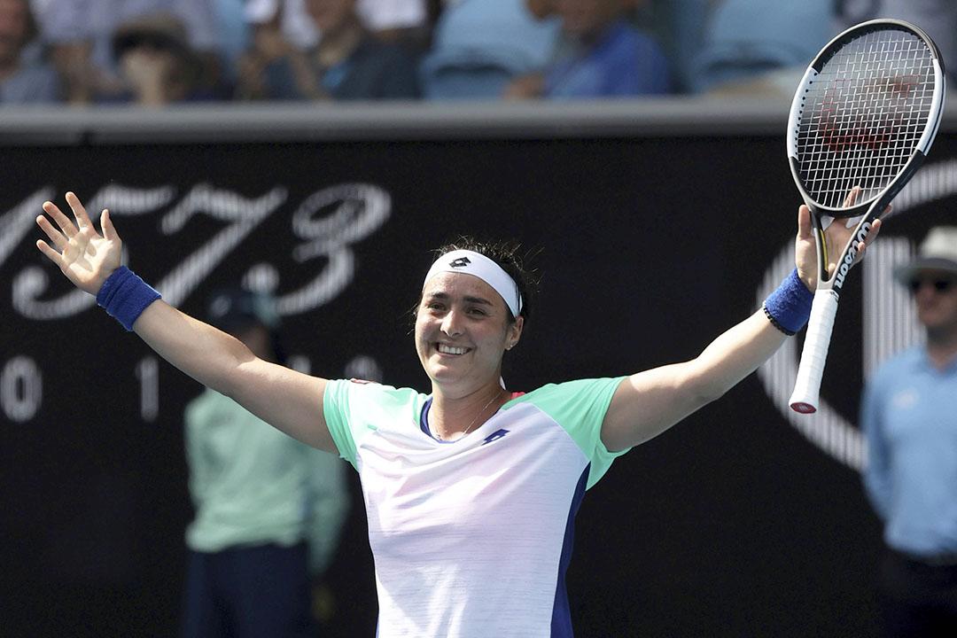 La tenniswoman tunisienne Ons Jabeur à l'Open d'Australie, en janvier 2020.