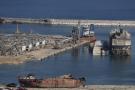 Le port ravagé de Beyrouth, le 7 août 2020.