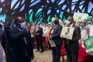 Arrivée de Alassane Ouattara au conseil politique du RHDP, le 29 juillet 2020.