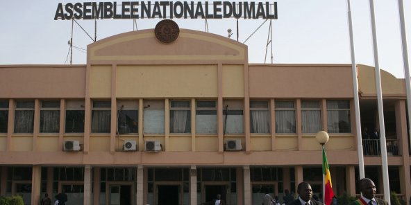 L'Assemblée nationale du Mali, en 2014 (illustration).