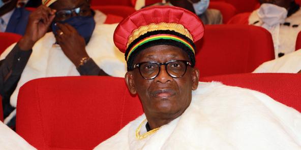 Amadou Ousmane Touré, le nouveau président de la Cour constitutionnelle du Mali, a pris ses fonctions le 10 août 2020.