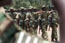 Des soldats zambiens paradent lors d'un défilé militaire à Lusaka, en 2007 (archives).