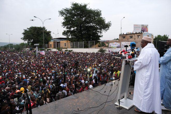 Mali : des milliers de manifestants réclament à nouveau le départ du président IBK