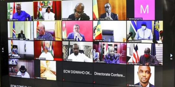 Les chefs d'État de la Cedeao ont organisé une réunion d'urgence sur la situation au Mali, ce jeudi 20 août 2020.