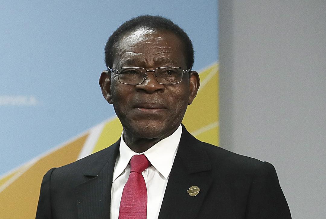 Teodoro Obiang Nguema Mbasogo, le président de la Guinée équatoriale.