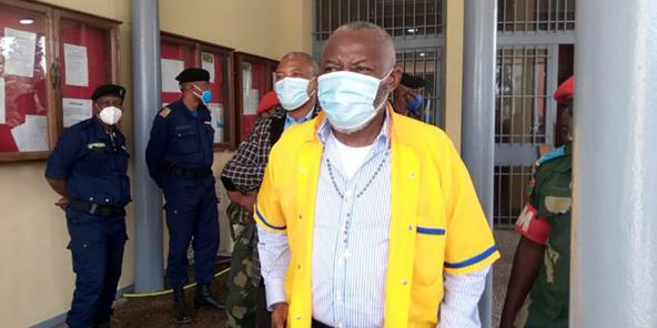 Vital Kamerhe, qui est toujours directeur de cabinet du président Félix Tshisekedi, était en détention à la prison de Makala, à Kinshasa, depuis le 8 avril.
