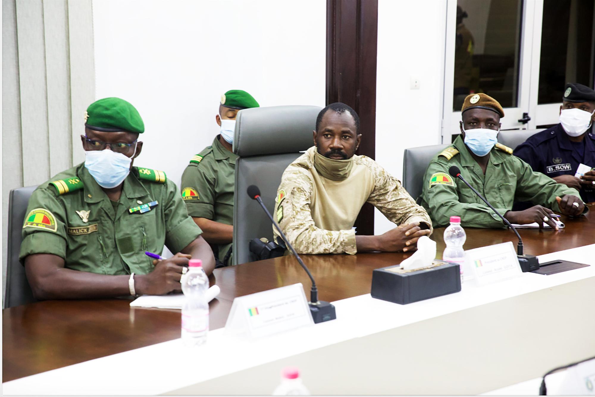 Le colonel Assimi Goïta, chef du Comité national du salut du peuple (CNSP).