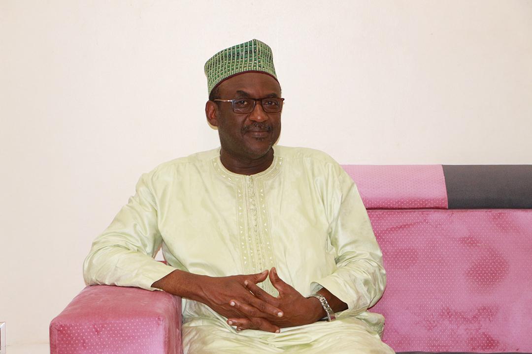 Hamidou Boly, le 27 août lors d'une interview accordée à JA, à Bamako.