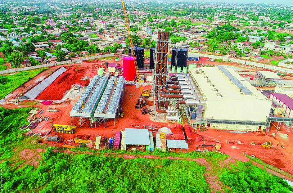 Rodrigue Ako - Maria-Gléta, la première centrale thermique du pays, en attendant la prochaine dont les travaux seront bientôt lancés