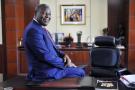 James Mwangi, dirigeant d'Equity Group, à Nairobi, le 22 août 2016.