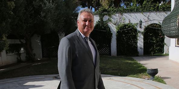 Ali Koolin, ministre tunisien de l'Économie.