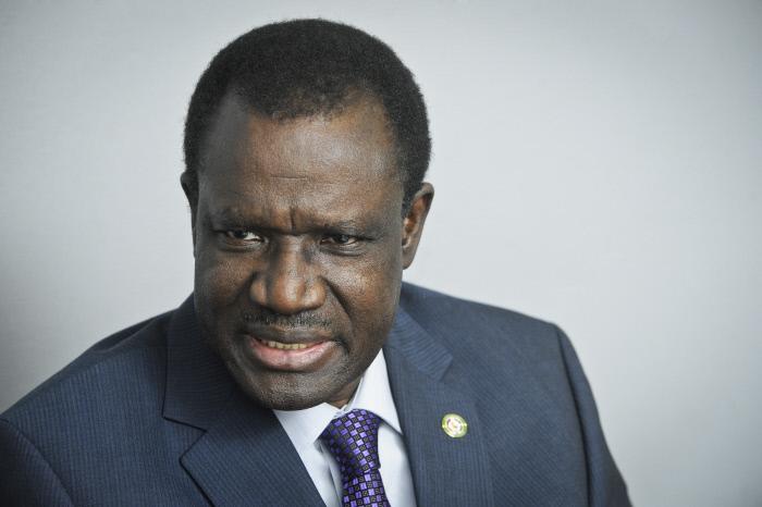 Kadré Désiré Ouedraogo, ici en 2015, est candidat à la présidentielle 2020 au Burkina Faso.