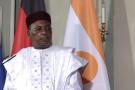 Mahamadou Issoufou, président du Niger, a présidé la réunion de la Cedeao le 7 septembre 2020 (photo d'archives).