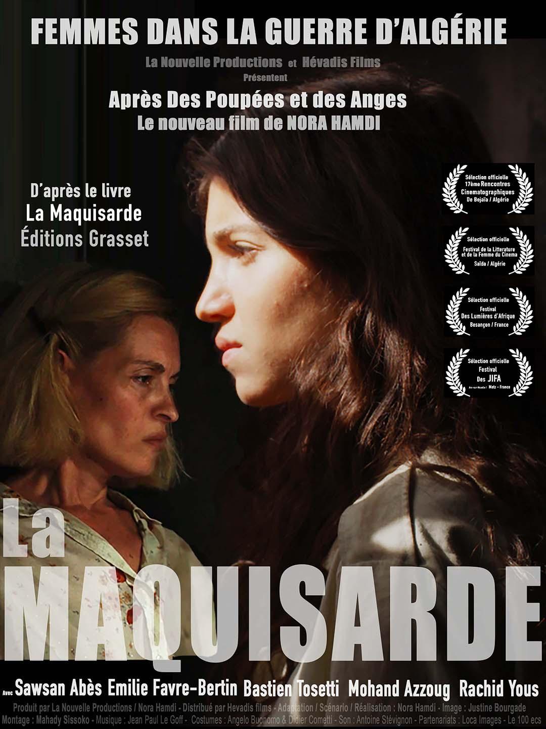 """""""La Maquisarde"""", de Nora Hamdi, sortie en France le 16 septembre."""