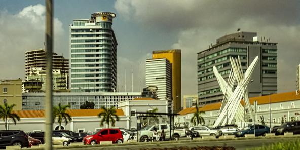 Le centre de Luanda