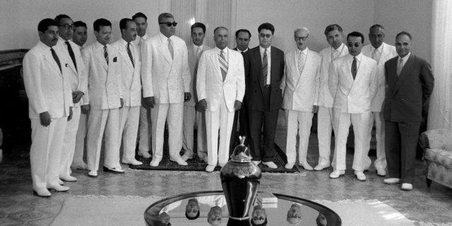 Deuxième gouvernement Bourguiba , Juillet 1957 ,Tunisie.
