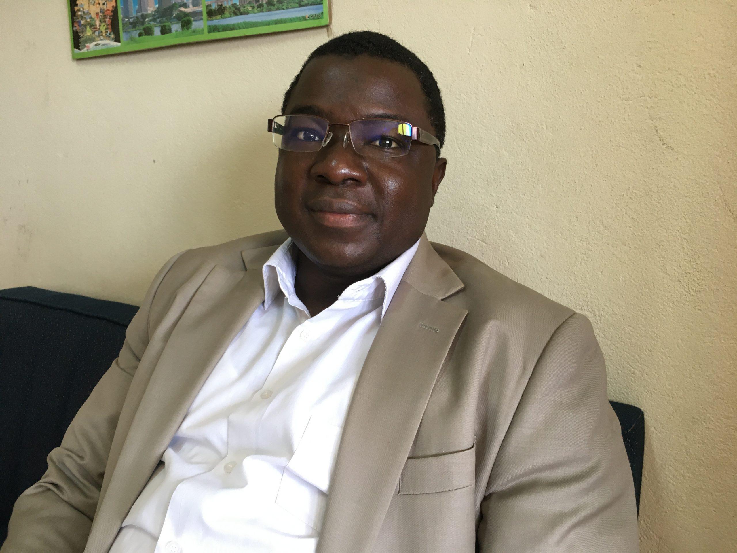 Arsène Brice Bado, directeur adjoint du Centre de recherche et d'action pour la Paix (CERAP).
