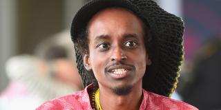 Le réalisateur soudanais Hajooj Kuka, en mars 2018 à Doha.
