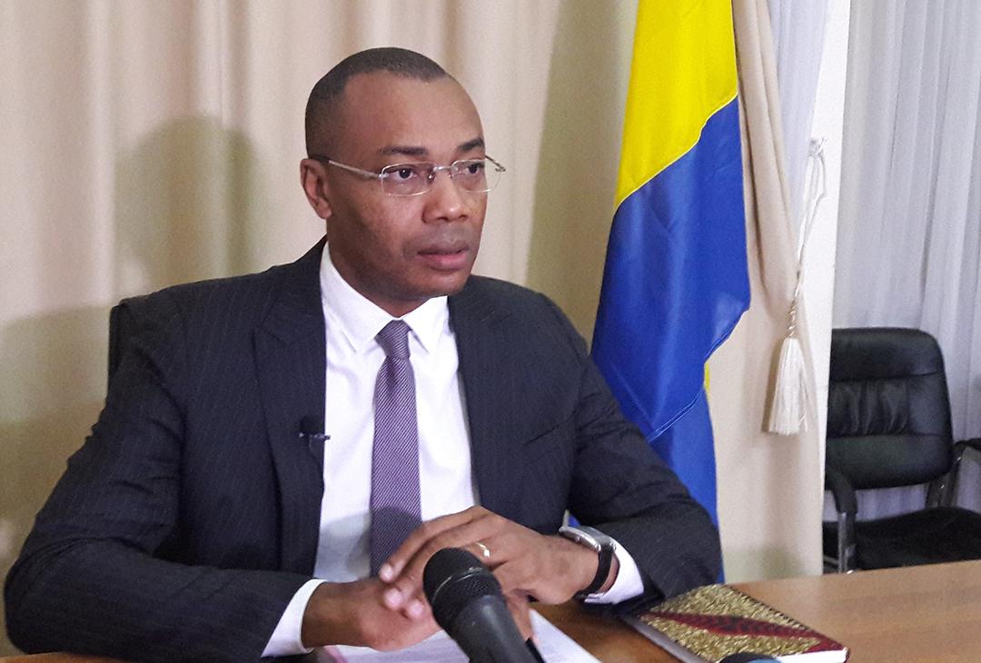 Guy Patrick Obiang Ndong, ministre gabonais de la Santé.