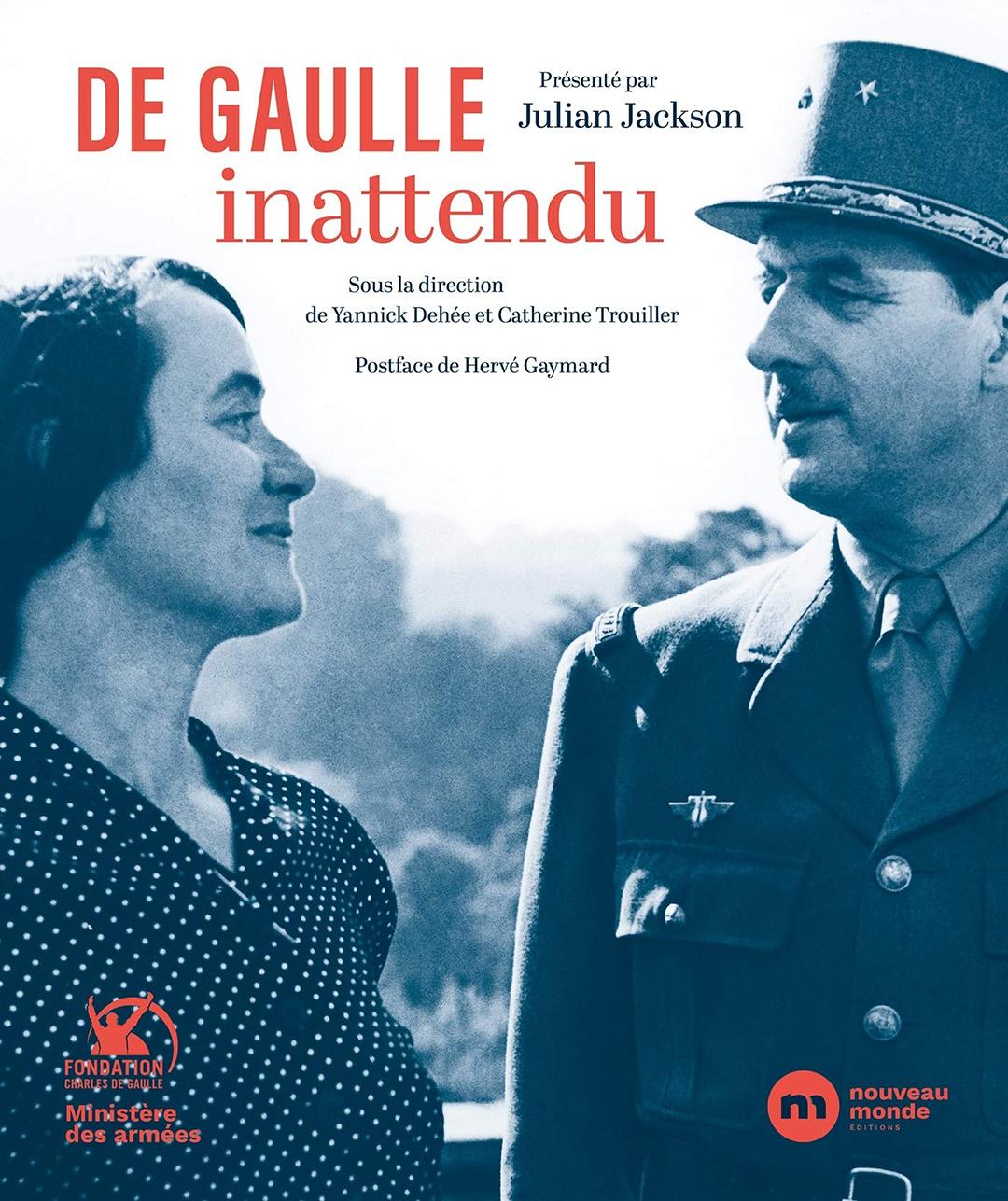 Couverture du livre « De Gaulle inattendu ».