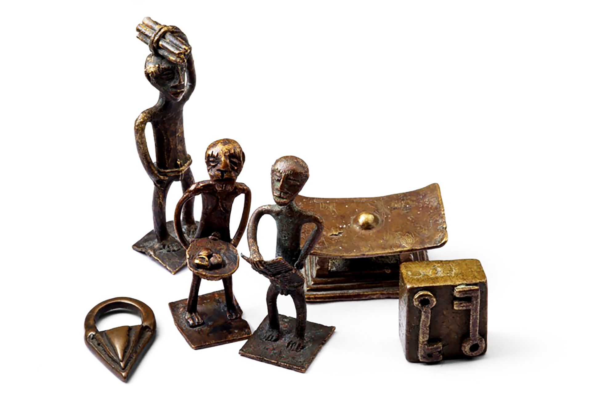 Des figurines qui témoignent du mode de vie de leurs utilisateurs.