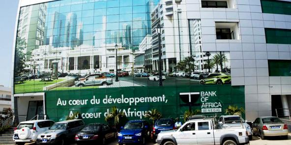 Siège de la filiale sénégalaise de BMCE Bank of Africa, Dakar.