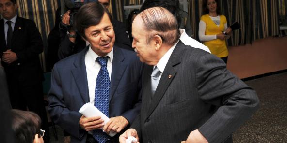 Principal «donneur d'ordre»,Saïd Bouteflika (àg.). Ici avec son frère Abdelaziz, ex-chef de l'État.