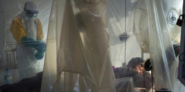 Centre de traitement pour les malades d'Ebola à Beni, en RDC. Photo d'illustration.