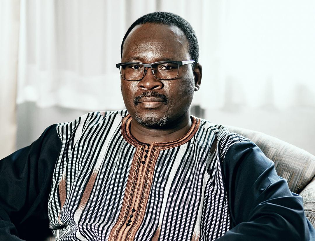 Yacouba Isaac Zida, ex-Premier ministre du Burkina Faso, en 2019, au Canada.