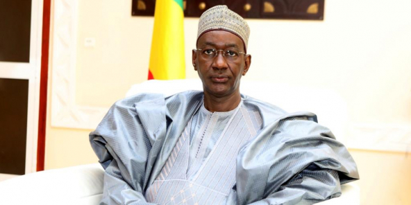 Le Premier ministre malien de transition, Moctar Ouane.
