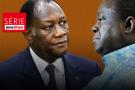 Alassane Ouattara et Henri Konan Bédié (photomontage)