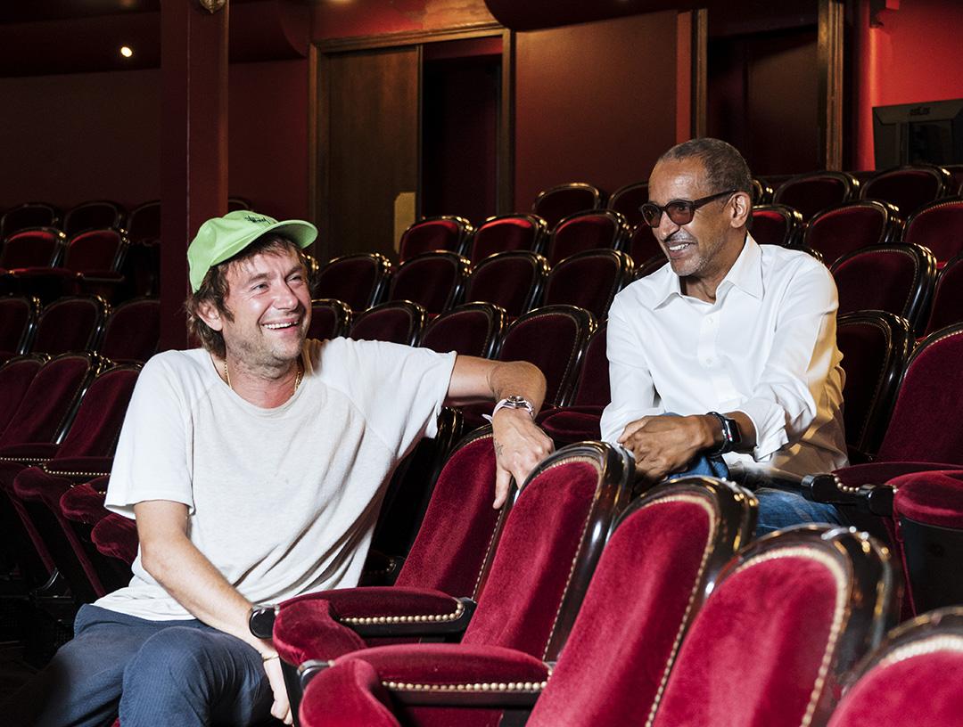 Damon Albarn et Abdheramanne Sissako au Théâtre du Chatelet, le 15/09/2020 / François Grivelet pour JA