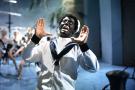 Un acteur du Minstrel Show, aux Etats-Unis, en 1964.