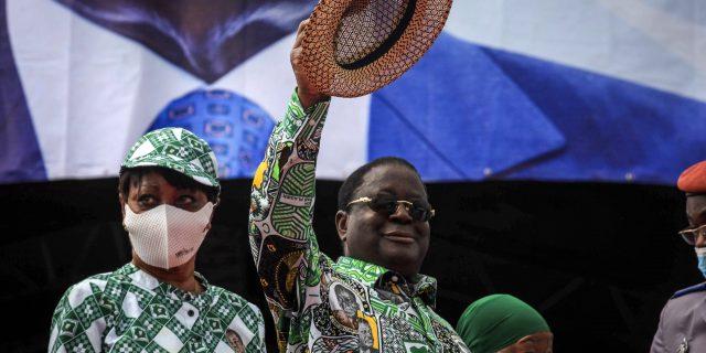 """Côte d'Ivoire : Henri Konan Bédié souhaite un retour """" dans les meilleurs délais """" de Laurent Gbagbo"""