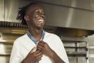 Le cuisinier franco-malien Mory Sacko, à Paris